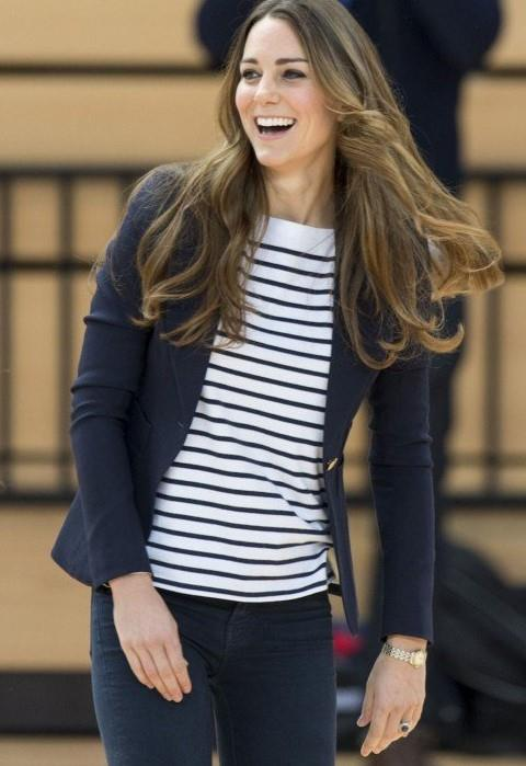 La duchessa durante un evento sportivo al Queen Elizabeth Olympic Park