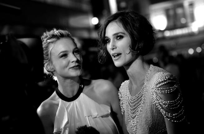 Carey Mulligan e Keira Knightley