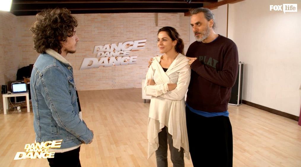 Il direttore artistico Laccio con Claudia e Max