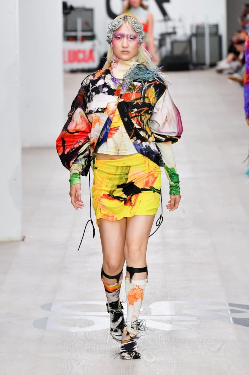 Sfilata ON-OFF PRESENTS Collezione Donna Primavera Estate 2020 Londra - CSC_1362