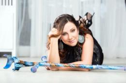 Antonella Ferrari in una foto di Nicola Allegri