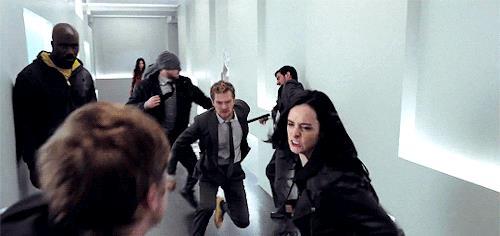 Una scena di The Defenders