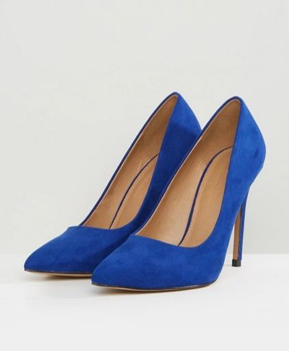 Scarpe blu Asos per Natale