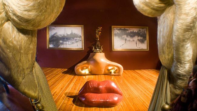 Sala Mae West di Salvador Dalì