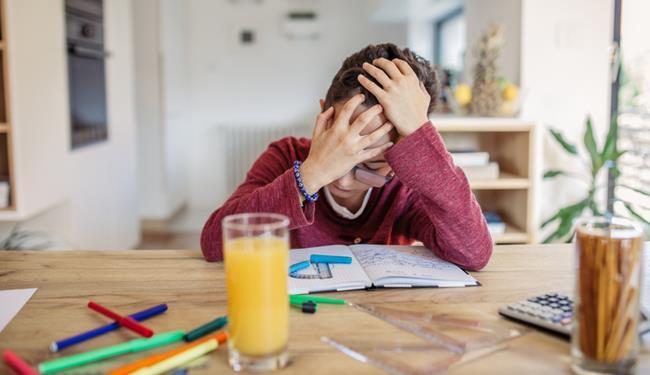 Ansia da scuola: bambino in difficoltà