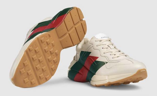 Sneaker Rhyton  le nuove scarpe sportive di Gucci 9c36bf87754e