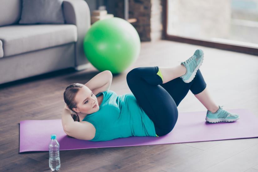 Sovrappeso femminile: mancanza di attività fisica