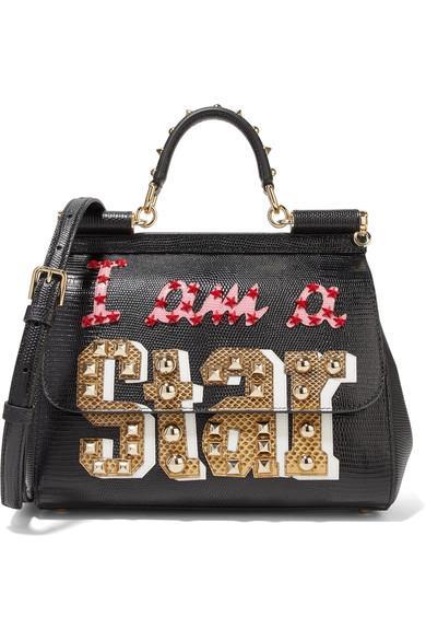 Borsa a mano nera Dolce&Gabbana da regalare Natale