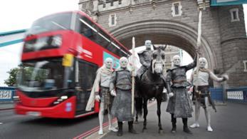 Gli Estranei di Game of Thrones a Londra