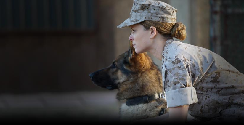 Kate Mara in un'immagine del film su Megan Leavey
