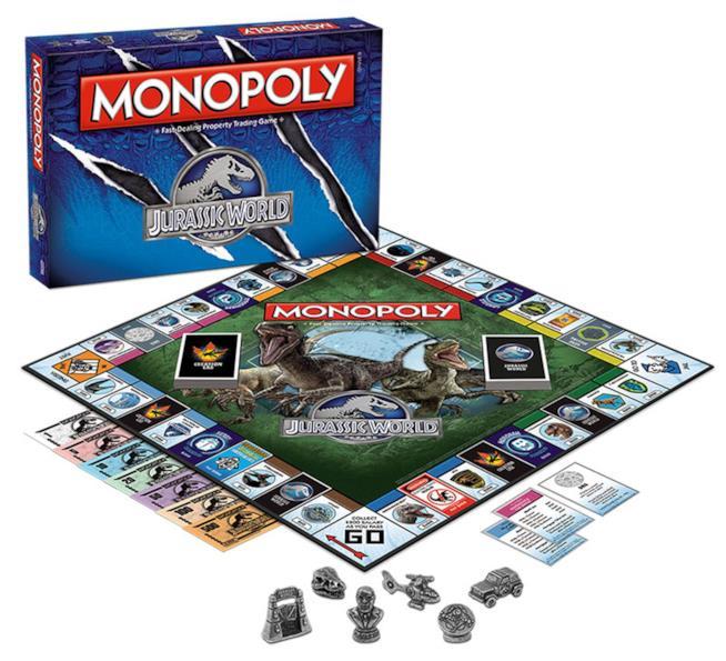 Monopoli Jurassic World
