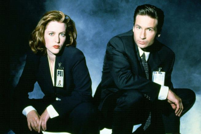 David Duchovny e Gillian Anderson protagonisti di X-Files