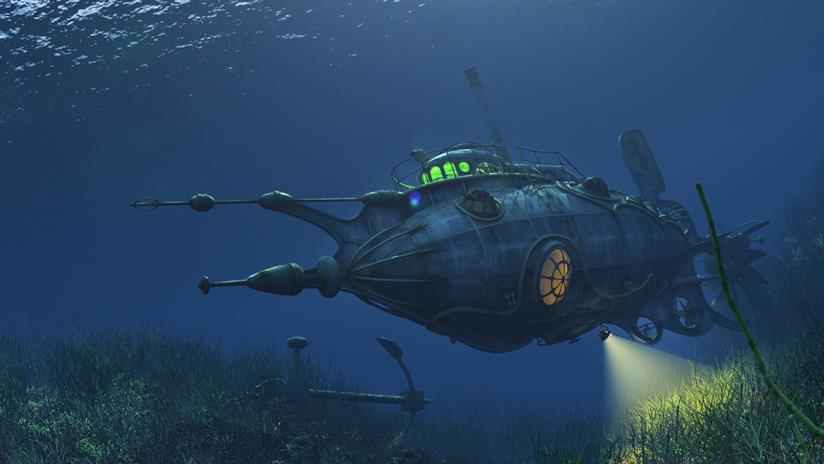 Sottomarino fantascientifico