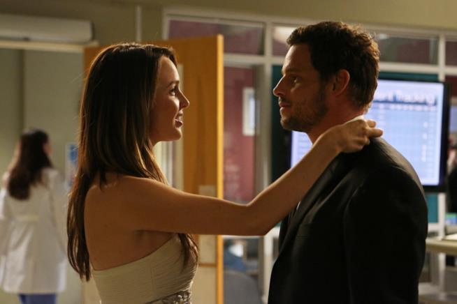 La coppia Alex Karev e Jo Wilson