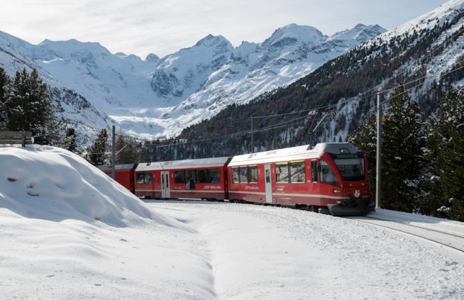trenino del Bernina, Val Roseg, Svizzera