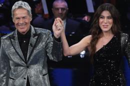 I look scintillanti di Baglioni per la serata duetti di Sanremo