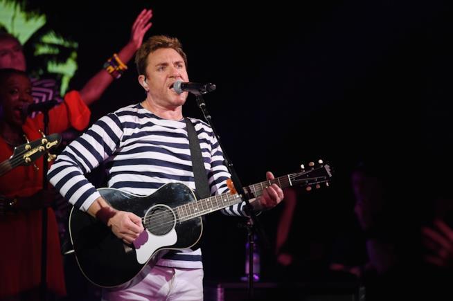 Il leader dei Duran Duran, Simon Le Bon
