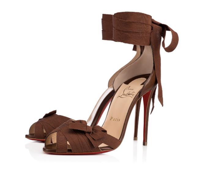 Il sandalo marrone di Louboutin