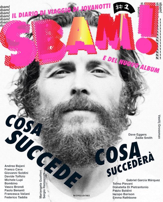 Jovanotti: cover libro-rivista SBAM
