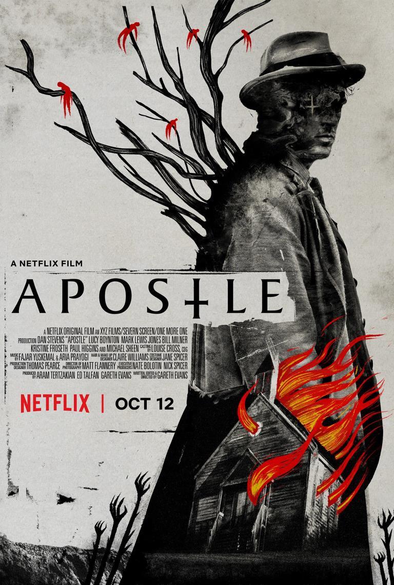 La locandina di Apostle su Netflix