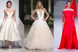 Collage abiti da sposa 2019