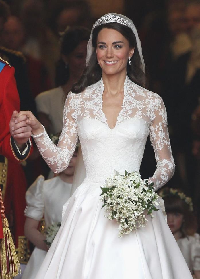 46dc0ca38e L'abito da sposa di Kate Middleton in versione low cost da H&M