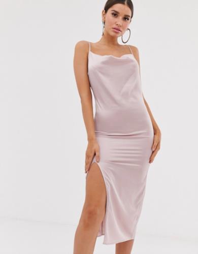 Slip dress rosa
