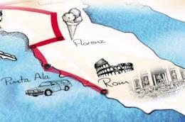 Mappa de La mia ultima estate