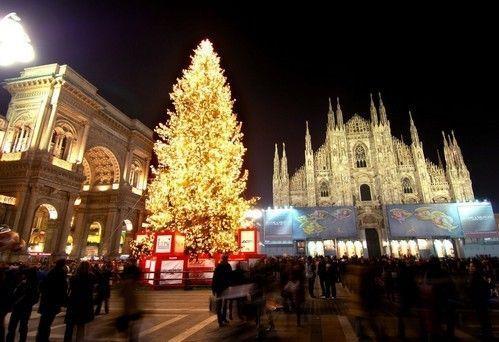 Mercatini natalizi in Piazza Duomo a Milano