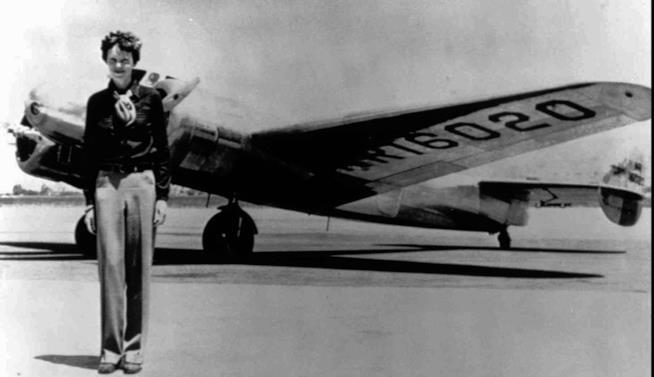 Amelia Earhart donna pioniera grande aviatrice