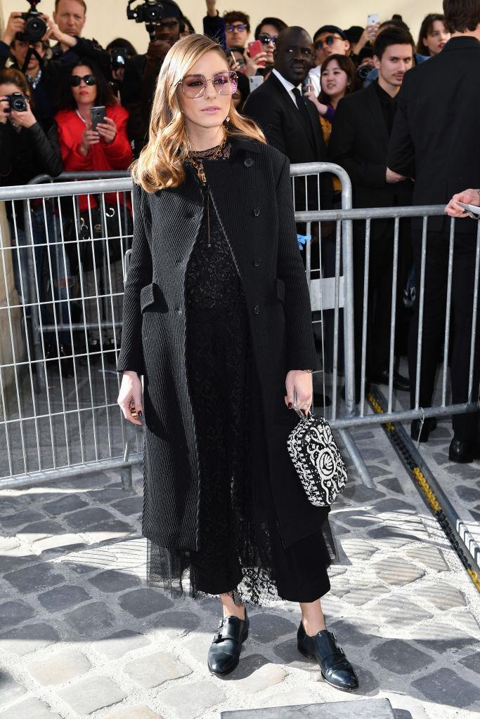 Olivia Palermo alla sfilata Christian Dior