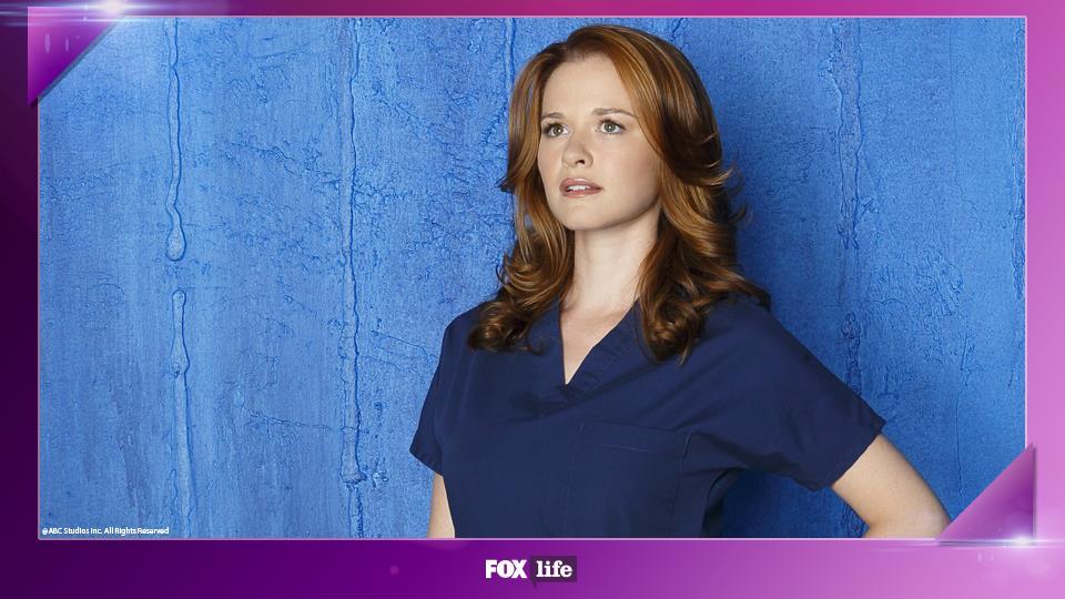 Sarah Drew rimase incinta nello stesso periodo in cui fu incinta April Kepner.