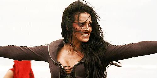 Kahlan in una scena de La spada della verità