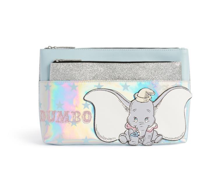 Astuccio per trucchi della Primark ispirato a Dumbo