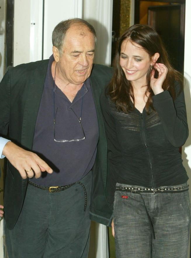 Eva Green con Bernardo Bertolucci insieme per The Dreamers