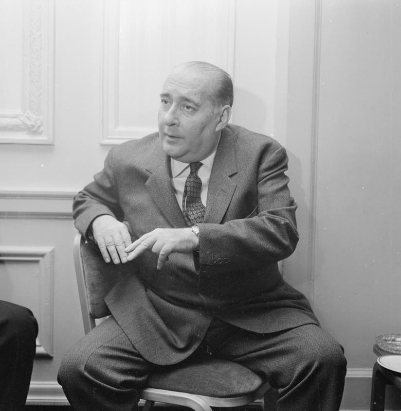 Il regista Roberto Rossellini