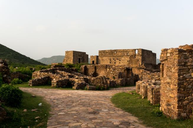 Bhangarh Fort nel Rajastan