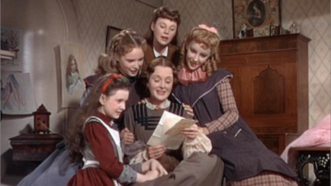 Il Film Piccole donne con Elizabeth Taylor