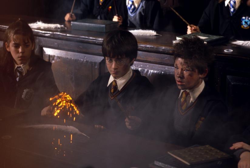 Daniel Radcliffe in Harry Potter e la pietra filosofale