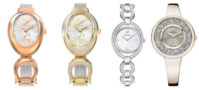 Quattro modelli di orologi da donna