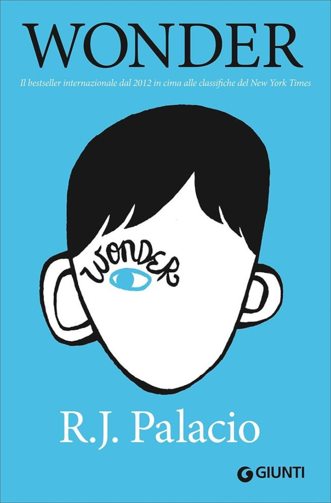 La copertina del libro Wonder