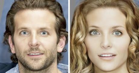 Bradley Cooper immaginato come donna
