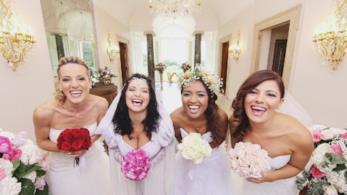 Le spose di Quattro Matrimoni in Italia sono agguerritissime!