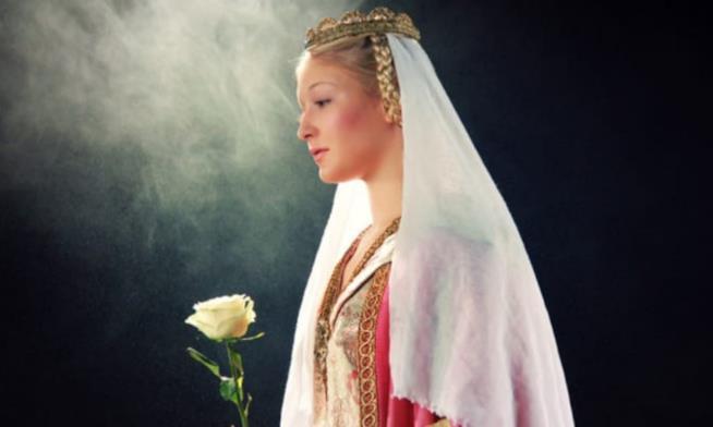Un'immagine di Aurora ne La Bella Addormentata nel Bosco