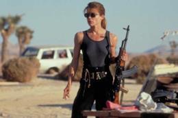 Linda Hamilton è Sarah Connor in Terminator