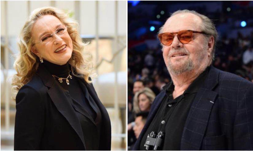 Collage tra Eleonora Giorgi e Jack Nicholson