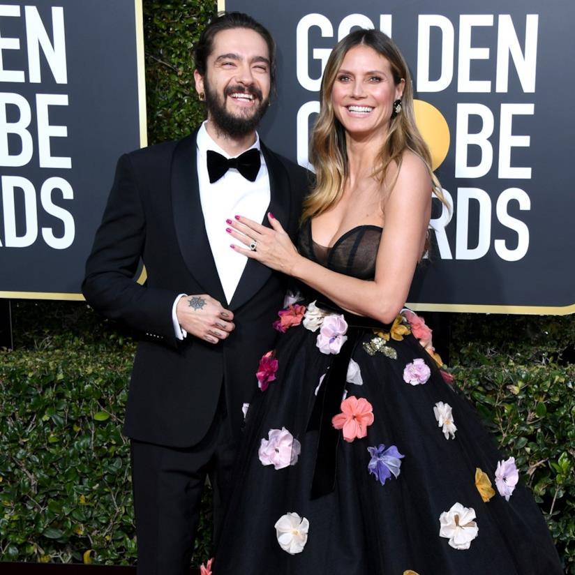 Tom Kaulitz e Heidi Klum