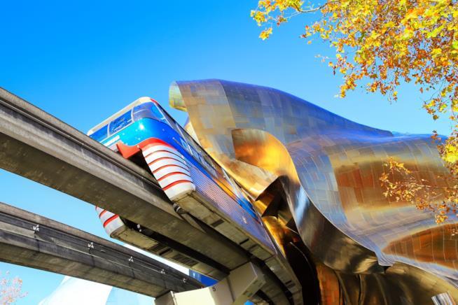 La Seattle Center Monorail