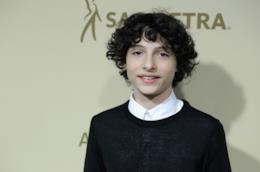 Finn Wolfhard in primo piano