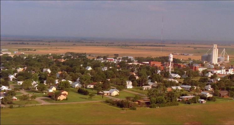 Smallville vista dall'alto
